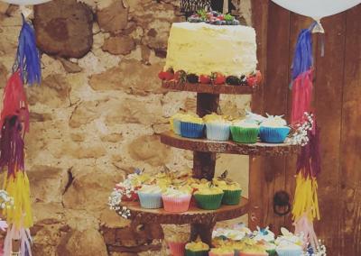 5 level cake stand