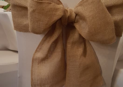 chair sash hessian