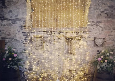 Waterfall lights